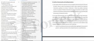 Fortissio - условия соглашения