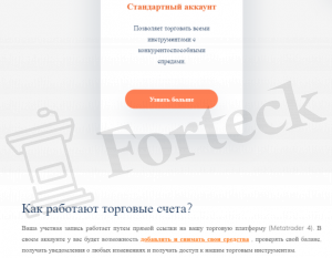 ATFX - счета