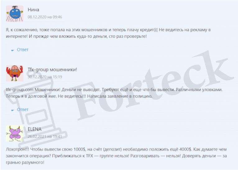 TFX Group - отзывы2