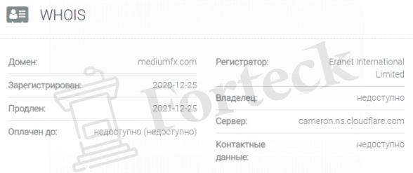 MediumFX - домен