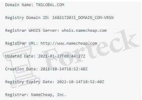 TxGlobal - домен