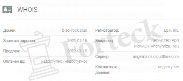 BlackRock домен