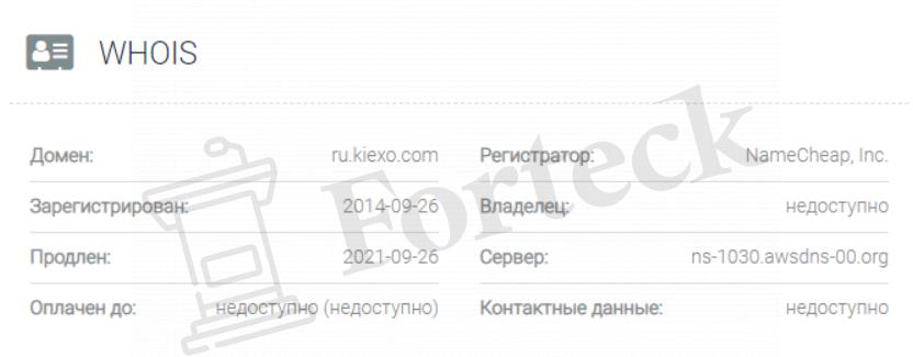 Kiexo домен