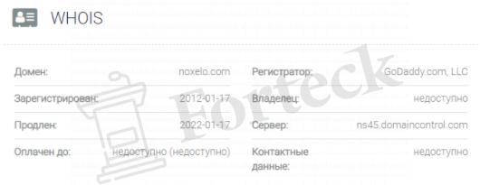 обзор официального сайта Noxelo