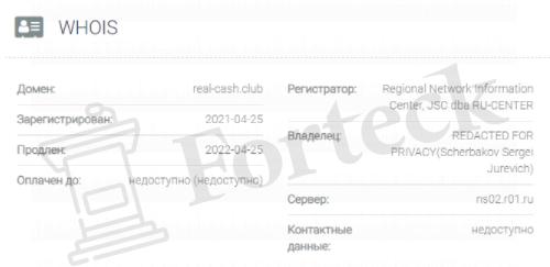 обзор официального сайта REAL-CASH