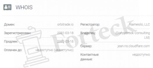 обзор официального сайта OrbiTrade