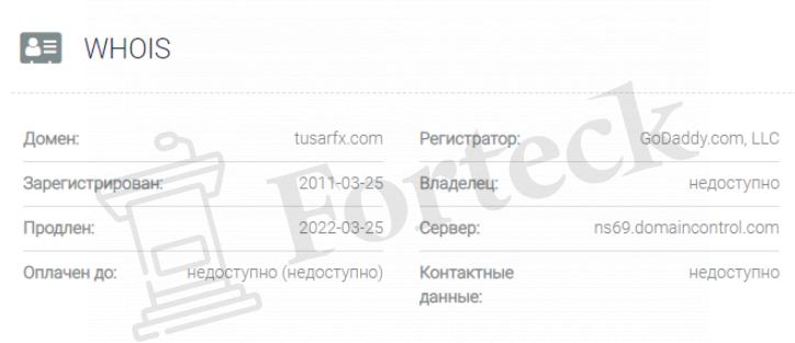 обзор официального сайта Tusar FX