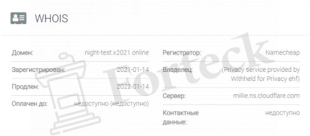 обзор официального сайта Ночного дохода