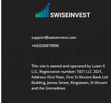 Юридические аспекты SWISEINVEST