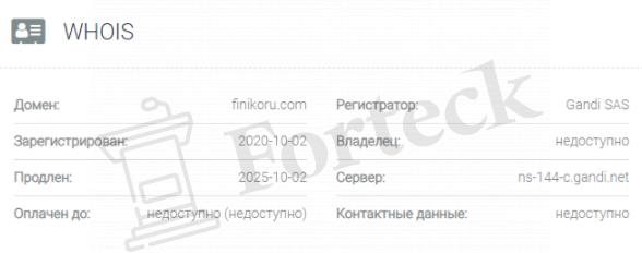 обзор официального сайта Финико