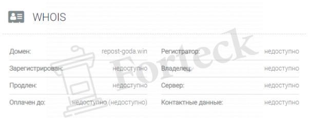 обзор официального сайта Repost Goda