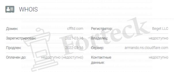 обзор официального сайта Capital First Finance