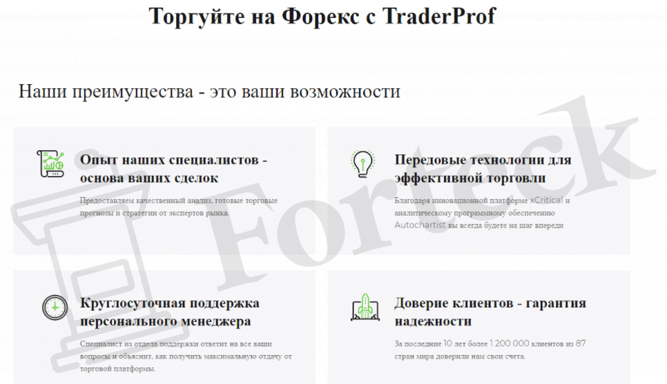 Торговые предложения  TraderProf