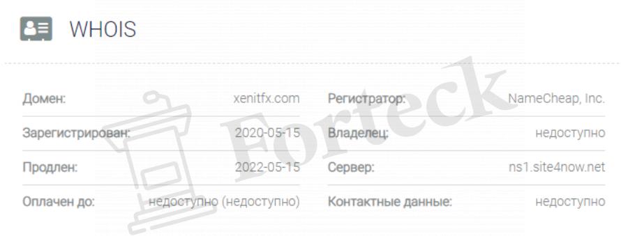 домен XenitFX