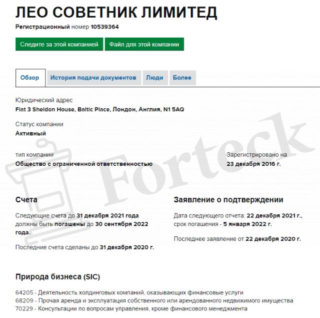 регистрация Leorate