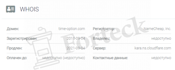 домен Time Option