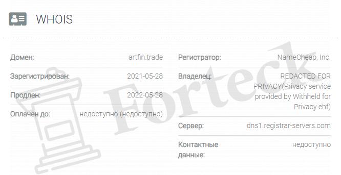 домен Artfin Trade