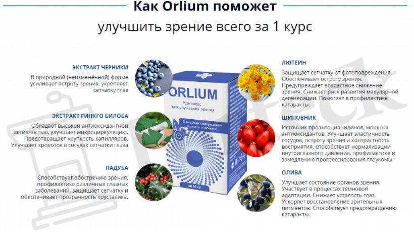 свойства Orlium