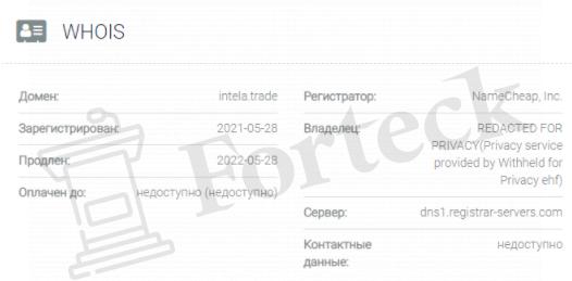 домен Intela