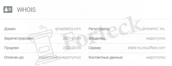 домен QR Capital 24