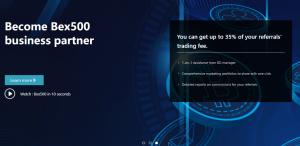 Bex500 – еще один брокер, точно не собирающийся выводить деньги