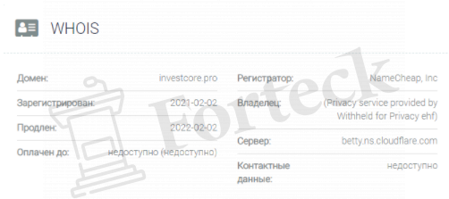 Invest Core официальный сайт